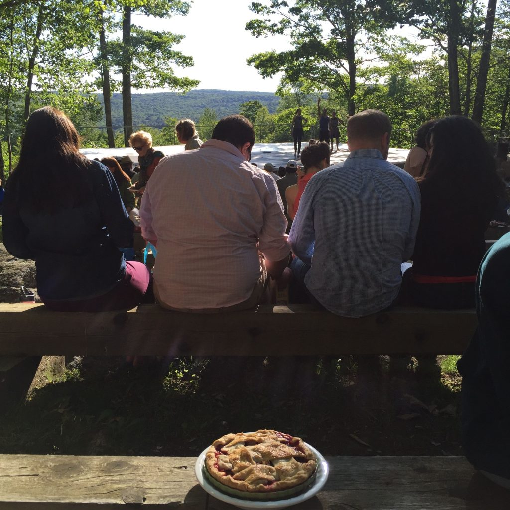 pie at Jacob's Pillow